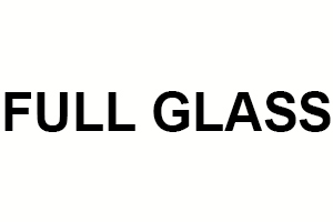 FULL GLASS
