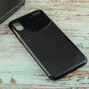 Накладка Usams iPhone XS Back Case--MJ Series black