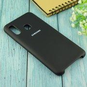 Чехол Silicone case для Samsung A305 2019 чёрный(18)