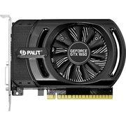Видеокарта Palit PA-GTX1650 StormX OC 4G GeForce GTX 1650 4096Mb 128bit GDDR5 1485/8000 DVIx1/HDMIx1/HDCP Ret