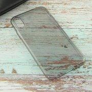 Чехол HOCO Light series TPU case for iPhoneXR, Черный Прозрачный