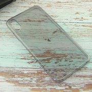 Чехол HOCO Light series TPU case for iPhoneX Max, Черный Прозрачный