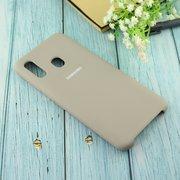 Чехол Silicone case для Samsung A305 2019 серый(23)