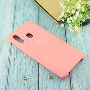 Чехол Silicone case для Samsung A305 2019 розовый(12)