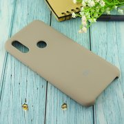 Чехол Silicone case для Xiaomi Redmi 7 серый(23)