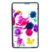 """Накладка универсальная имитация стекла для планшета 7 дюймов """"Розы цветные"""", цветной"""