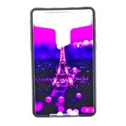 """Накладка универсальная имитация стекла для планшета 7 дюймов """"Эйфелевая башня"""", цветной"""