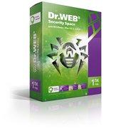 ПО Dr.Web Security Space (КЗ), 1 ПК/1 год. Лицензия, DVD, коробка (BHW-B-12M-1-A3)