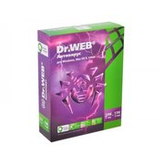ПО Dr.Web Anti-Virus, 2 ПК/1 год. Лицензия, DVD, коробка (BHW-A-12M-2-A3)