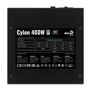 Блок питания Aerocool ATX 400W CYLON 400 80+ (24+4+4pin) 120mm fan color 4xSata RTL