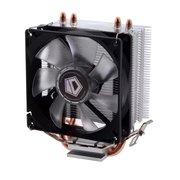 Охладитель ID-Cooling SE-902X, Multi Sockets, 2 теплотрубки, TPD 100W, 4-pin PWM, fan Ф92mm, 600-2000rpm, 14-23,8 dBA, 38.5 CFM, HDA