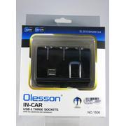 Тройник гнезда прикуривателя Olesson 1506 USB
