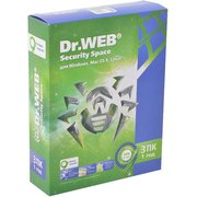 ПО Dr.Web Security Space (КЗ), 3 ПК/1 год. Лицензия, DVD, коробка (BHW-B-12M-3-A3)