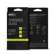 Защитное стекло AXBRO Full Cover+Full Glue для Xiaomi Redmi 7 Черная рамка