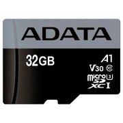 Карта памяти A-Data microSDHC UHS-I 32Gb Class 10 + adapter (AUSDH32GUICL10-RA1)