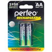 Аккумулятор Perfeo AA2100mAh/2BL