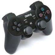 Геймпад Dialog GP-A17 Gan-Kata - вибрация, 12 кнопок, PC USB/PS3, черный