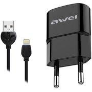 СЗУ Awei C-832 USB +Lightning 2.1A Black