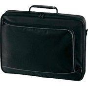 """Сумка для ноутбука 17.3"""" Hama Sportsline Bordeaux черный/серый политекс (00101755)"""