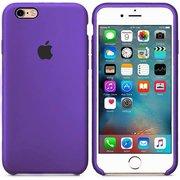 Чехол Silicone Case для iPhone 6/6s (Фиолетовый)(36)