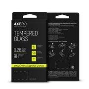 Защитное стекло AXBRO Full Cover+Full Glue для Samsung Galaxy A80/A90 Черная рамка