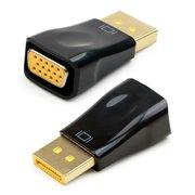 Конвертер Cablexpert A-DPM-VGAF-01 DP-1.1a (папа) - D-SUB/VGA (мама), 1920x1200(1080)@60Hz, Oem