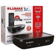 Ресивер DVB-T2 Lumax DV1110HD черный DVB-T, DVB-T2