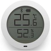 Цифровой Термометр Xiaomi Bluetooth с Датчиком температуры и влажности и LCD Экраном Белый (NUN4019TY)
