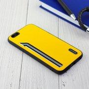 Чехол Shengo для iPhone 6/6S жёлтый