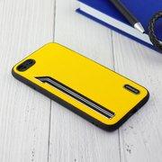 Чехол Shengo для iPhone 7/8 жёлтый