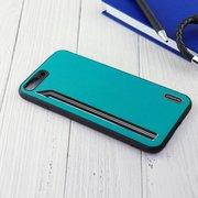 Чехол Shengo для iPhone 7/8 Plus зелёный