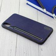Чехол Shengo для iPhone XS Max фиолетовый