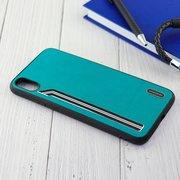 Чехол Shengo для iPhone XS Max зелёный