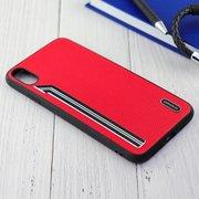 Чехол Shengo для iPhone XS Max красный
