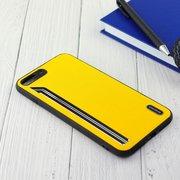 Чехол Shengo для iPhone 7/8 Plus жёлтый