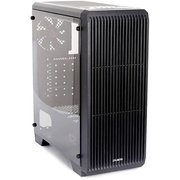 Корпус ZALMAN S2, ATX, mATX, Mini-ITX, Midi-Tower, сталь, без блока питания, 3xUSB на лицевой панели, 189x451x412 мм, цвет: черный