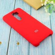 Чехол Silicone case для Xiaomi Redmi Note 8 Pro красный(14)