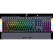 Клавиатура механическая Redragon Brahma Pro RU,RGB,Optical switches