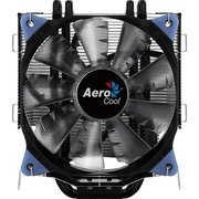 Охладитель AeroCool Verkho 5 Dark, Multi Sockets, 5 теплотрубок, TPD 150W, 4-pin PWM, fan Ф120x25mm, 1000-2000rpm, 15-27dBA, 27.2 - 56.4 CFM, HDB (hyd