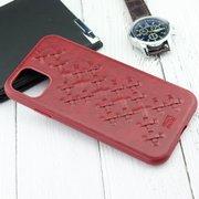 Чехол Raigor Inverse WEAVE Series для iPhone 11 (красный)