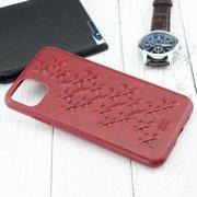 Чехол Raigor Inverse WEAVE Series для iPhone 11 PRO Max (красный)
