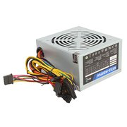 Блок питания Aerocool Retail ECO-450W 450W ATX v2.3 Haswell, fan 12cm, 400mm cable, power cord, 20+4P, 12V 4P, 1x PCI-E 6P, 2x SATA, 2x PATA, 1x FDD