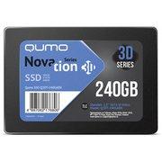 "SSD Qumo Novation TLC 3D, Oem (Q3DT-240GAEN OEM) 2.5"" 240GB SATA3"