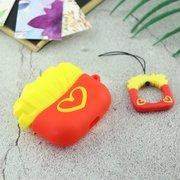 Чехол для AirPods Pro Мак Сердце (красный)