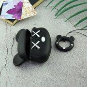 Чехол для AirPods Pro Микки Маус (чёрный)