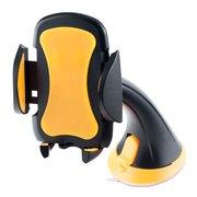 Автомобильный держатель Perfeo 501 черный+оранж.