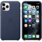Чехол (клип-кейс) Apple для Apple iPhone 11 Pro Leather Case синий (MWYG2ZM/A)