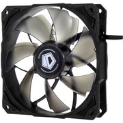 Вентилятор ID-COOLING NO-12025-SD 120x120x25мм (80шт./кор, 3pin, черный, 1600об/мин)  BOX