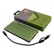 Внешний аккумулятор GP Portable PowerBank MP05 Li-Pol 5000mAh 2.1A+2.1A зеленый 2xUSB