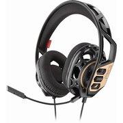 Наушники с микрофоном Plantronics RIG 300 черный/золотистый (211834-05)